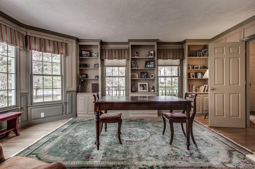 Hopkinton Wow! House Features In-Law Apartment, Mahogany ...