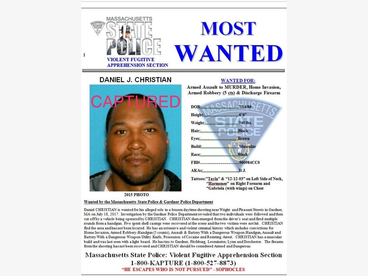 Mass  Most Wanted Suspect For Attempted Murder Found In