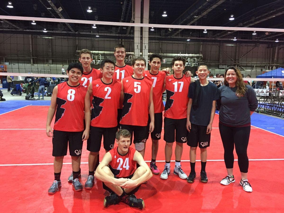 Cjva Boys Storm U16 Team Wins Bracket At 2017 Boys Atlantic Northeastern Volleyball Tournament Marlboro Nj Patch