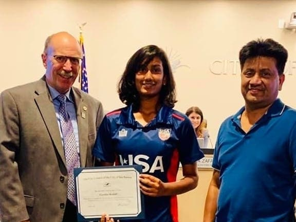 DVHS Student Makes US Cricket Team, Honored By City Of San