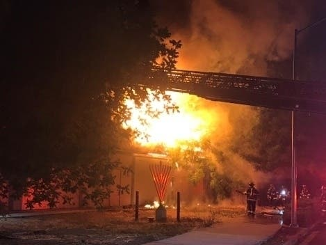 Fire Burns Chabad Of The Tri Valley, No Indication Of Arson