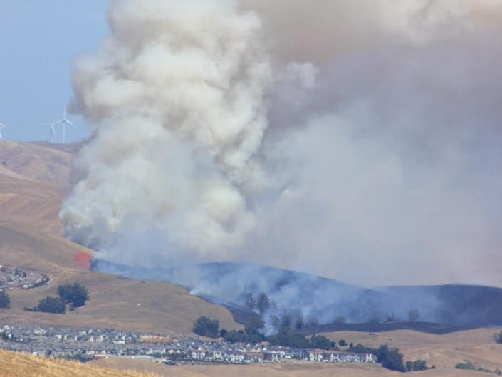 Dublin Brush Fire Contained At 240 Acres | Dublin, CA Patch