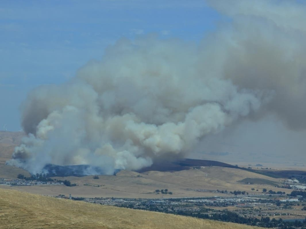 Dublin Brush Fire Contained At 240 Acres   Dublin, CA Patch