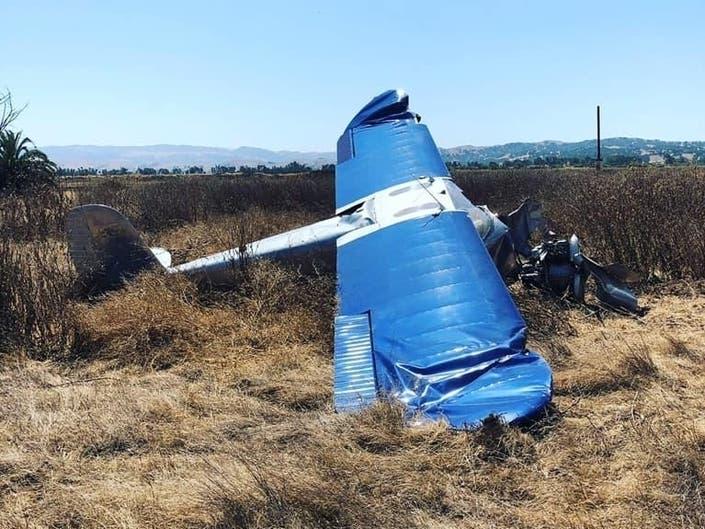 Plane Crash, Brush Fire: Livermore, Tri-Valley Police Logs