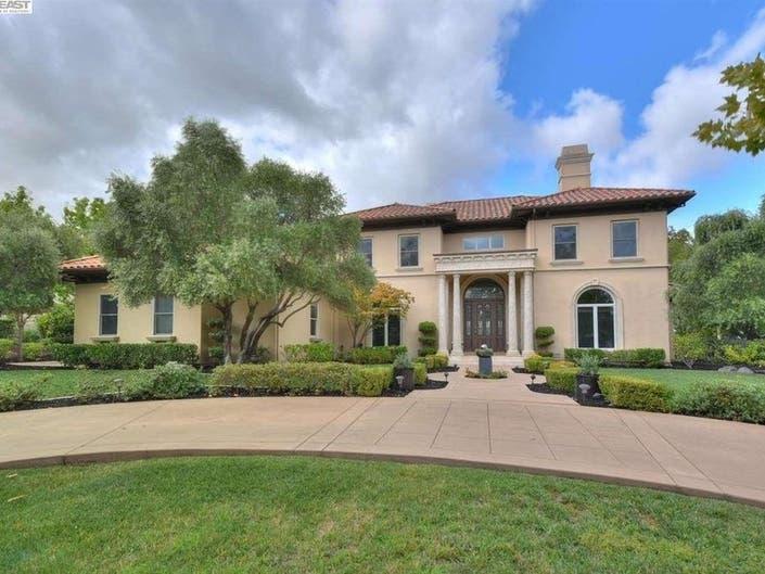 Pleasanton Estate Listed Under $3M: Golf Course, Pool