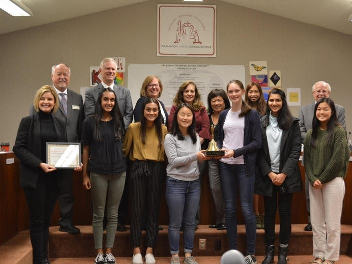 2 Pleasanton USD Programs Claim Coveted Golden Bell Awards