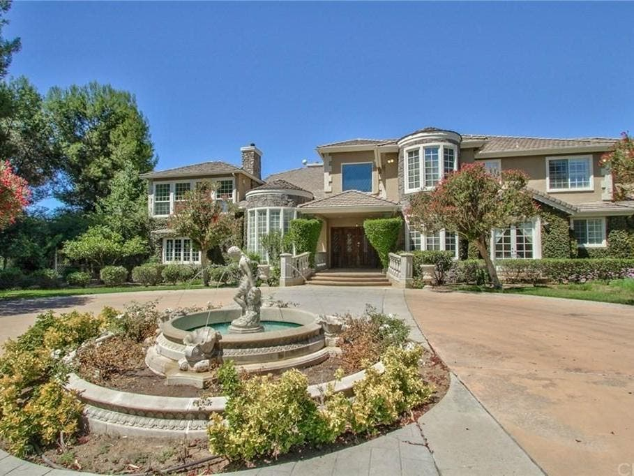 5-Acre French Country Estate Hits Market In Temecula