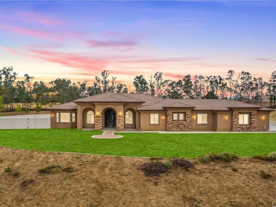 'Immaculate' Tuscan-Style Home On 5.58 Acres Listed In Temecula