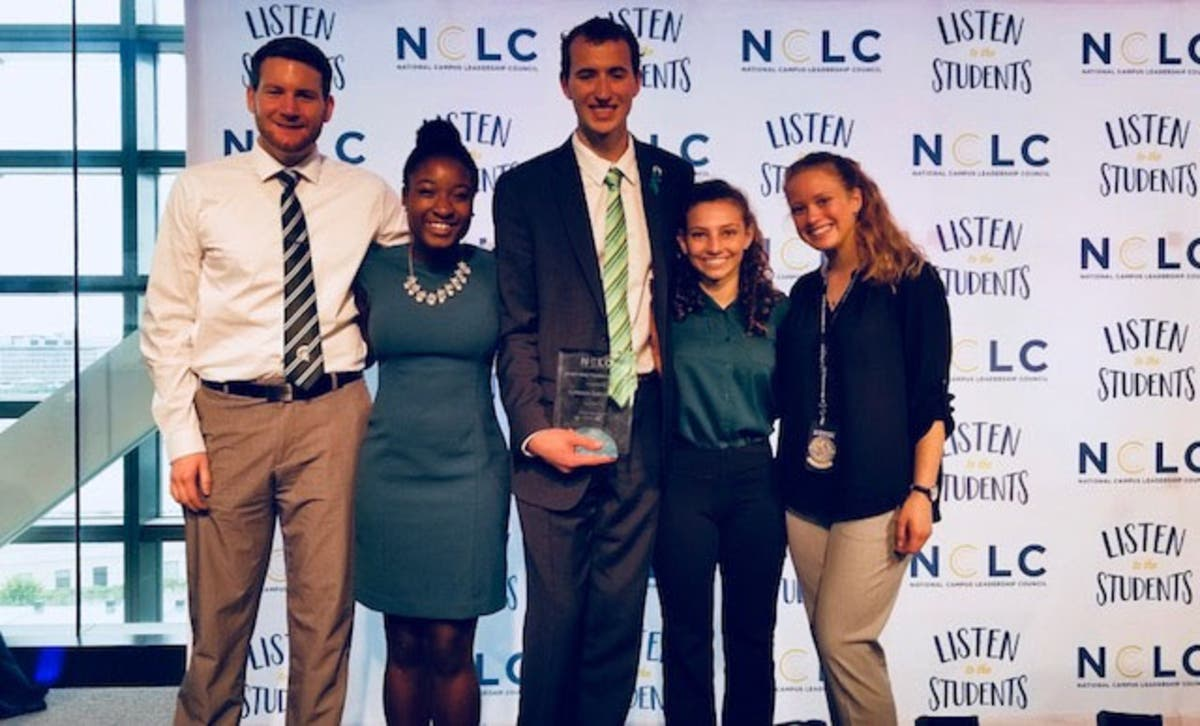 Msu Student Info >> Ucs Grad Honored For Leadership As Msu Student President