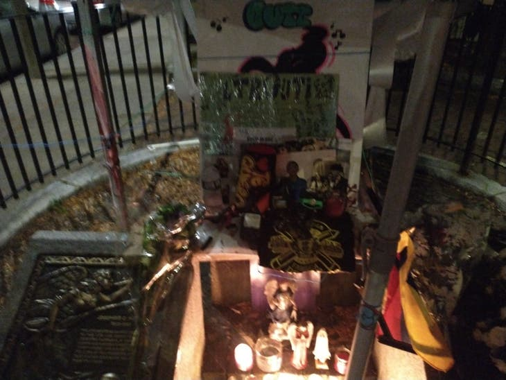 I'm a resident of East Boston. There's a memorial at...
