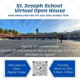 St. Joseph School in Fremont is hosting a Virtual Open House...