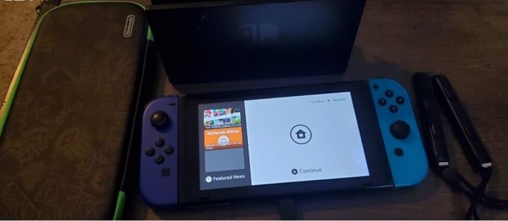 Nintendo switch (hackable) $230...